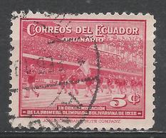Ecuador 1939. Scott #377 (U) Parade Of Athletes * - Equateur