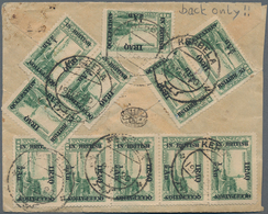Irak: 1919-1942, Group Of 24 Covers Including One Postal Stationery Card And A Back Only, With Vario - Irak
