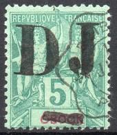 !!! PRIX FIXE : COTE FRANCAISE DES SOMALIS, N°1 OBLITERE SIGNE CALVES - Côte Française Des Somalis (1894-1967)
