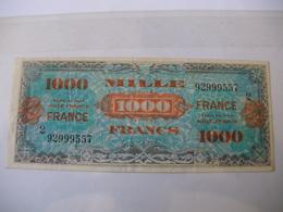 1000 F FRANCE TYPE 1945  SERIE 2 - Trésor