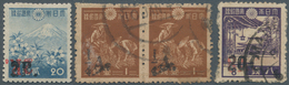 Japanische Besetzung  WK II - Burma: 1942, Unused Mounted Mint (often First Mount) And Used Speciali - Myanmar (Burma 1948-...)