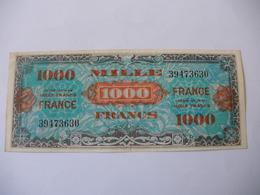 1000 F FRANCE TYPE 1945 SANS SERIE - Trésor
