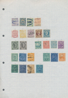 Kolumbien: 1859/1970 (ca.), Used And Mint Collection/accumulation On Leaves/stockpages, Main Value I - Kolumbien