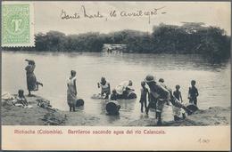 Kolumbien - Besonderheiten: 1900/1950, Nice Collection With 167 Picture Postcards Including Some Gen - Kolumbien