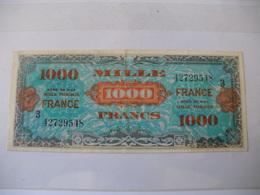 1000 F FRANCE TYPE 1945  SERIE 3 - Trésor