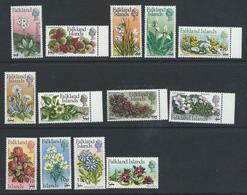 Falkland Islands 1971 - Decimal Opts On Flowers Set Complete Wmk W12 SG263-268 MNH Cat £27+ SG2015 - Falkland Islands