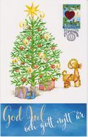 Aland Christmas Card 2018 - Christmas Tree - Candle - Heart - Star - Decoration - Aland
