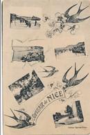 CPA - France - (06) Alpes Maritimes  - Souvenir De Nice - Non Classificati