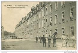 72 LE MANS. 31° Régiment Artillerie. Messages Signaux Par Drapeaux 1914 - Le Mans