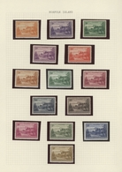 Norfolk-Insel: 1947/1984, Mint Collection On Album Pages, Well Sorted Throughout Incl. Better Defini - Norfolkinsel