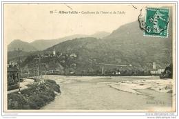 73 ALBERTVILLE. Confluent Isère Et Arly 1909 - Albertville