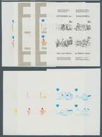 Penrhyn: 1974/90, Sammlung Von 3.491 PHASENDRUCKEN Nur Verschiedener Und Kompletter Ausgaben, Dabei - Penrhyn