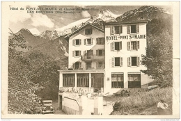 Top Promotion : 74 LES HOUCHES. Hôtel Du Pont Sainte-Marie (petite Coupure Bord Droit) - Les Houches