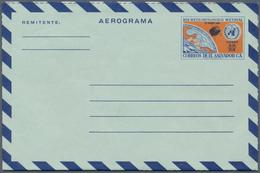El Salvador - Ganzsachen: 1950/95 (ca.) Accumulation Of Ca. 355 Unused/used/CTO Airletters And AEROG - El Salvador