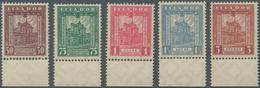SCADTA - Ausgaben Für Ecuador: 1929, Cathedral Of Quito Definitives Five Different Values Incl. 50c. - Ecuador