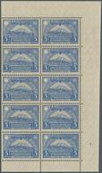 SCADTA - Ausgaben Für Ecuador: 1929, Definitive Stamp 5s. Ultramarine 'Chimborazo Volcano' In A Lot - Ecuador