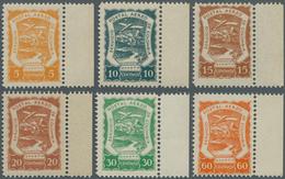 SCADTA - Ausgaben Für Kolumbien: 1921/1923, SERVICIO POSTAL AEREO DE COLOMBIA Six Values In Differen - Kolumbien