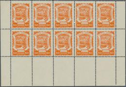 SCADTA - Ausgaben Für Kolumbien: 1923, SERVICIO POSTAL AEREO DE COLOMBIA 60c. Orange-red In An Inves - Kolumbien