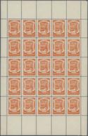 """SCADTA - Ausgaben Für Kolumbien: 1921/1923, Pictorials """"DE COLOMBIA"""", 5c. Orange, 10c. Slate, 20c. B - Kolumbien"""