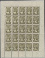 """SCADTA - Ausgaben Für Kolumbien: 1923/1928, Pictorials """"EN COLOMBIA"""", 50c. Dark Green, 60c. Brown (w - Kolumbien"""