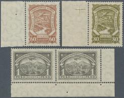 SCADTA - Ausgaben Für Kolumbien: 1923/1928, SERVICIO DE TRANSPORTES AEREOS EN COLOMBIA Three Values - Kolumbien