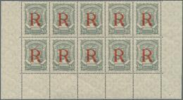 SCADTA - Ausgaben Für Kolumbien: 1928, SERVICIO DE TRANSPORTES AEREOS EN COLOMBIA 20c. Grey With Opt - Kolumbien