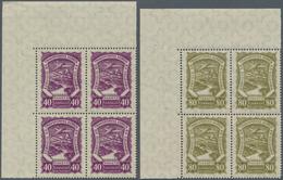 SCADTA - Ausgaben Für Kolumbien: 1928, SERVICIO DE TRANSPORTES AEREOS EN COLOMBIA Set Of Two With 40 - Kolumbien