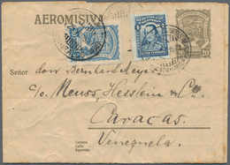 SCADTA - Ausgaben Für Kolumbien: 1923 9 Airletters Different Sizes And Values, One Commercially Used - Kolumbien