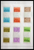 Surinam: 1977-2003: Beautiful, Very Extensive, Cancelled Collection Gutterpairs Of Surinam 1977-2003 - Surinam ... - 1975