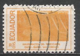 Ecuador 1957. Scott #619b (U) Railroad Scene * - Equateur