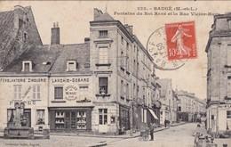 Bauge  ( 49 Maine Et Loire ) Fontaine Du Roi René - France