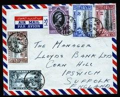 A5827) UK Sierra Leone Luftpostbrief 10.11.53 N. Ipswich - Sierra Leona (...-1960)