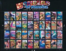 USA Mi.Nr. 4078-4114 - Wonders Of America - Folienbogen - Used - Blocs-feuillets