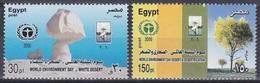Ägypten Egypt 2006 Umweltschutz Environmental Protection Wüstenbildung Wüsten Deserts Landschaften, Mi. 2301-2 ** - Unused Stamps