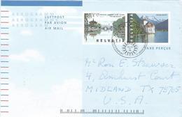 Switzerland 1999 St Moritz China Joint Issue Sun Aerogramme - Entiers Postaux