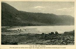 Wallis Et Futuna - Vue De Poi - Poï Est Juste Au Milieu De La Ligne Du Rivage, Sous Les Cocotiers éclairés Par Le Soleil - Wallis Et Futuna