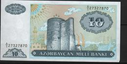 B6 - AZERBAÏDJAN 10 Manat - Azerbaïjan