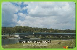 Voyo POLAND CRACOW Monthly Ticket  BRIDGE ZWIERZYNIECKI  2003 Plastic Card - Week-en Maandabonnementen