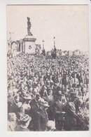 26764 CP Depot Gerbe General Gaulle Guerre Celebration ? Militaire Soldat - Statue  Clermont Ferrand Duey ? - A Identifier