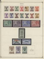 Asien: 1890/2000 (ca.), Miscellaneous Balance Incl. A Nice Part India/states, Burma, Modern U/m Maca - Timbres