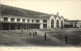 1 Cpa Lyon - La Gare De Vaise - Lyon