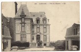 1916 CABOURG - Carte Sur La VILLA Des MOUETTES - Cabourg