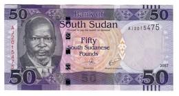 South Sudan 50 Pounds 2017 UNC - Soudan