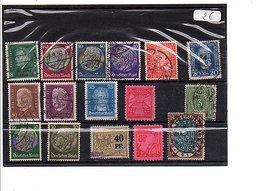 ALLEMAGNE REICH TOUS ETATS - Lots & Kiloware (mixtures) - Max. 999 Stamps