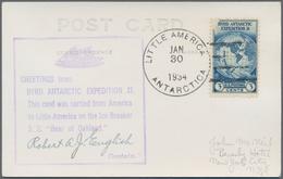 Thematik: Arktis & Antarktis / Arctic & Antarctic: 1934/2009, USA And Some Canada. Extensive And Ver - Sonstige