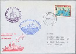 Thematik: Arktis & Antarktis / Arctic & Antarctic: 1979/1994, Ship Mail/thematic Covers Arctic-/Anta - Sonstige