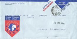 Portugal 1996 Barreiro Correio Azul Postage Paid Stationary Cover - Entiers Postaux