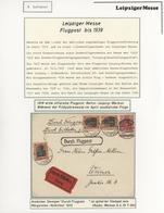 Thematik: Leipziger Messe / Leipzig Fair: 1919 - 1960, Umfangreiche Ausstellungssammlung Luftpost Zu - Briefmarken