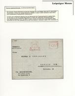 Thematik: Leipziger Messe / Leipzig Fair: 1927 - 2013, Umfangreiche, Nach Angaben Vollständige Samml - Briefmarken