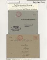 Thematik: Leipziger Messe / Leipzig Fair: 1929 - 1995, Umfangreiche Sammlung ABSENDERFREISTEMPEL Von - Briefmarken